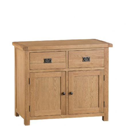 Oslo Oak 2 Door 2 Drawer Sideboard